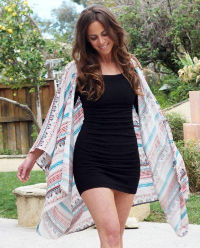 BO & EROS Tribal Kimono Cover-up