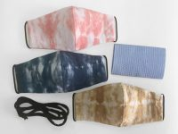 BOandEROS Tie Dye Face Masks Shibori.
