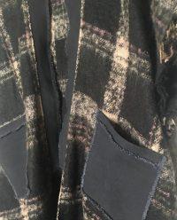 BOandEROS-blackcreamplaid-sweater-knit-coverup2